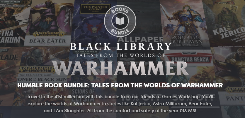 Humble Warhammer Bundle: '10% Off' Coupon for Martyr
