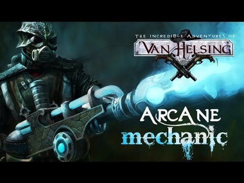Arcane Mechanic DLC Trailer - The Incredible Adventures of Van Helsing